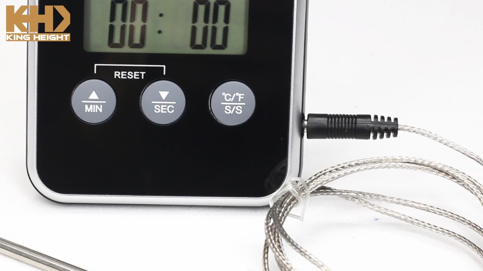KH-TH057 Hot Mini Water Olie Voedsel Instant Lezen Probe BBQ Koken Keuken Digitale Vlees Thermometer