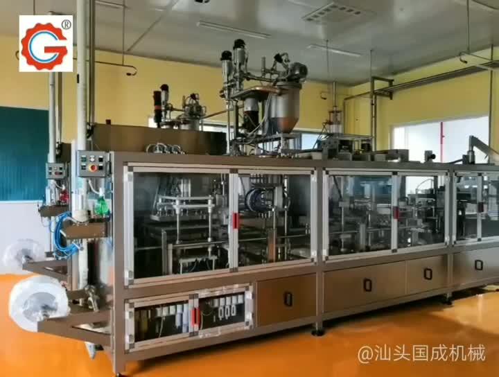 Rekabetçi Fiyat Yoğurt plastik bardak şekillendirme dolum kapatma makinesi