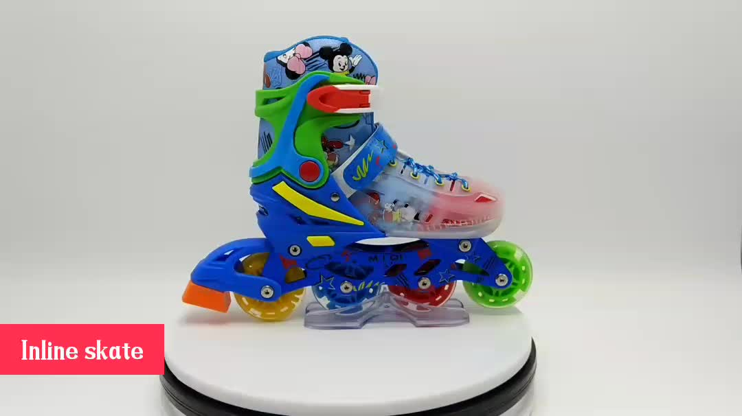 2019  popular patines inline skate pu wheels professional 4 wheels aggressive outdoor inline skate
