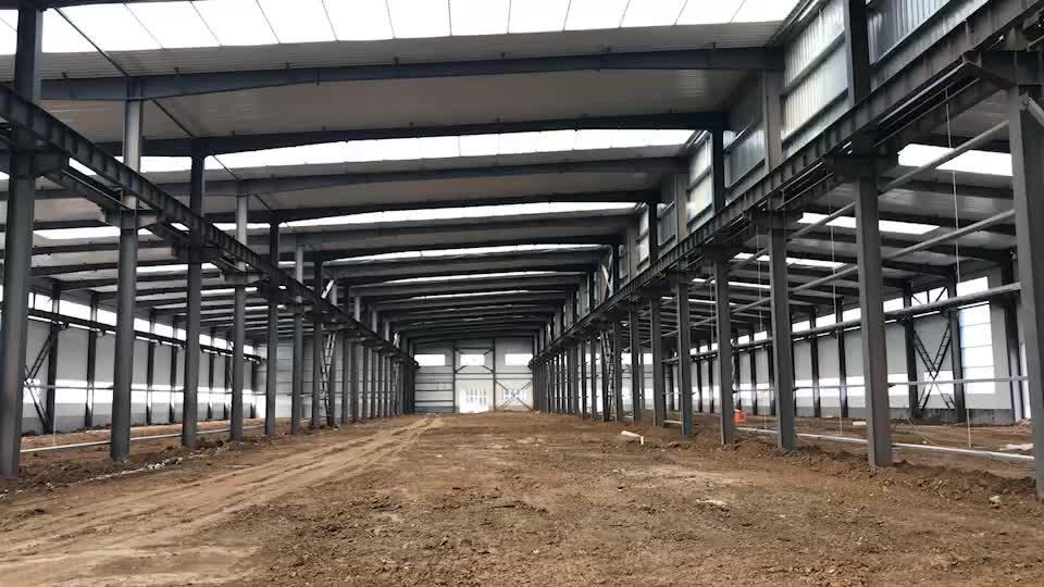 새로운 도착 무료 디자인 빛 강철 구조물 건축