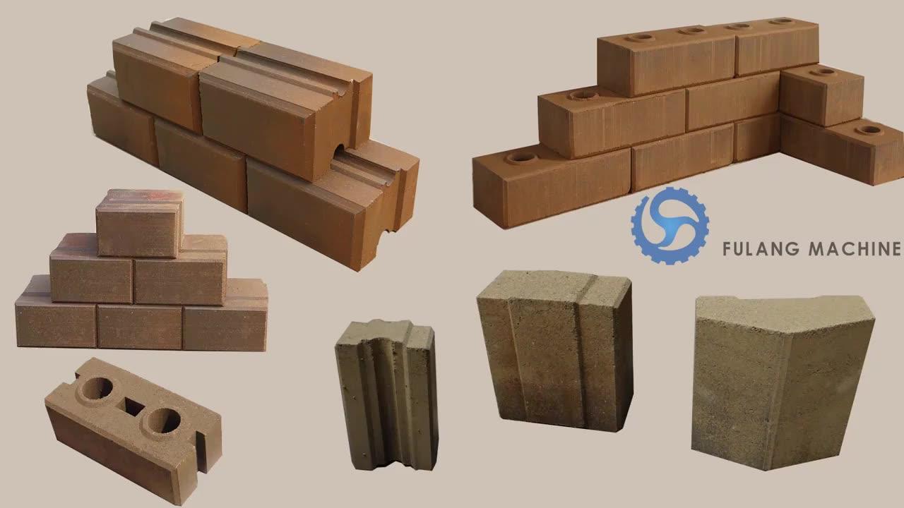 M7MI TWIN eco interlocking block making machine price for sale