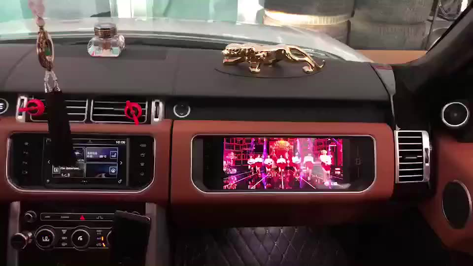 High Performance Android Full hd Car Co-pilot Player Entertainment Player For Range Rover