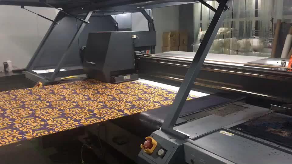Custom Ontwerp Digital Printing Stretch Gebreide Lycra Spandex Katoen Jersey Stof