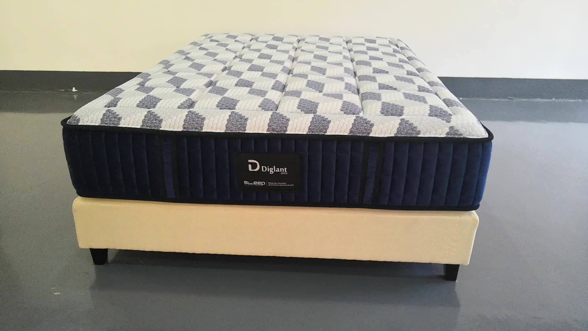 Diglant JE-A250 Factory Luxury China 5 Star Hotel Super King Mattress