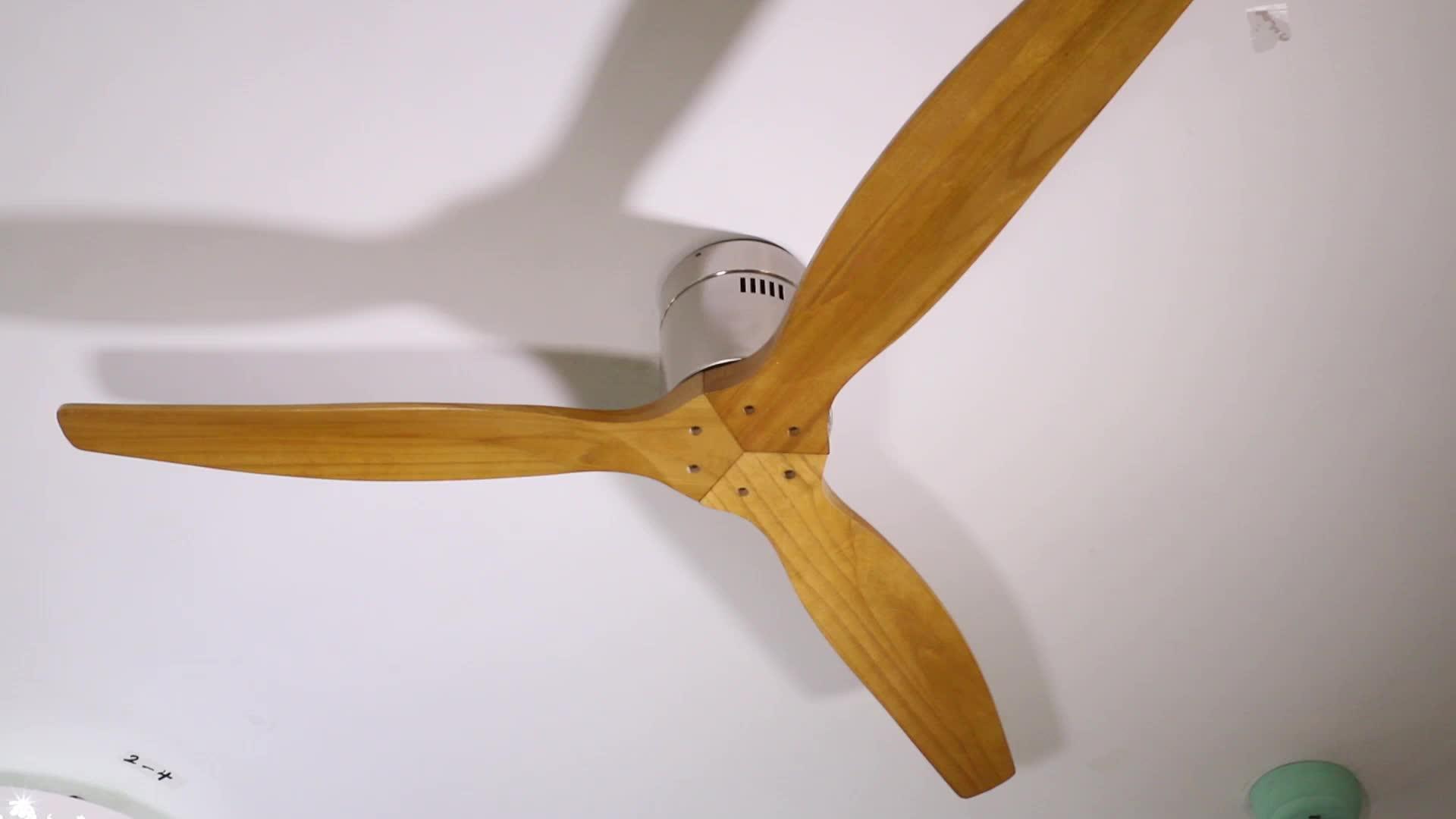 New Product Ideas 2018 Modern Ceiling Fan Solid Wood