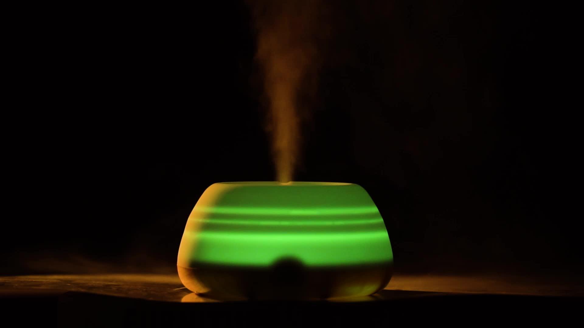 Private Label Baru Air USB Kabut Humidifier dengan Mengubah Lampu LED