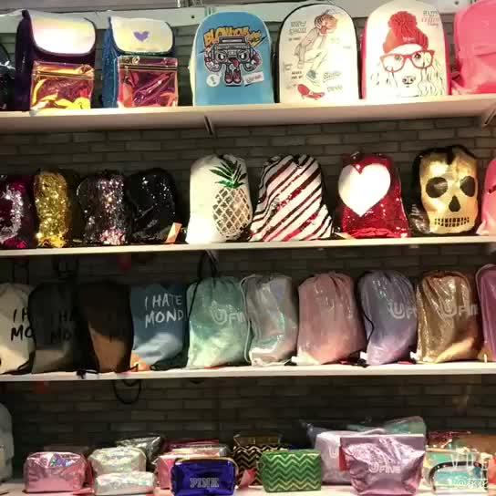 الوردي الفاخرة جميلة الليزر الأزياء سستة الجملة النساء ماكياج الحقيبة حقيبة مستحضرات التجميل