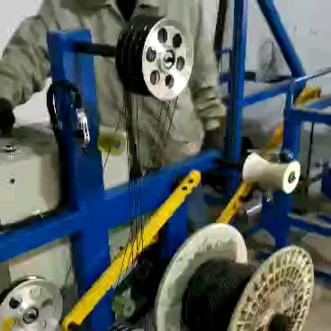 small wire spooling machine  Flat belt spool rewinding machine with counter meter