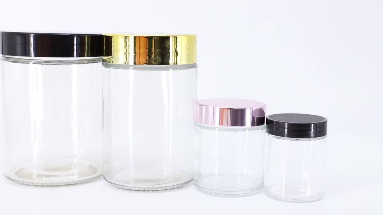 カスタマイズされた食品保存瓶ガラスジャー食品