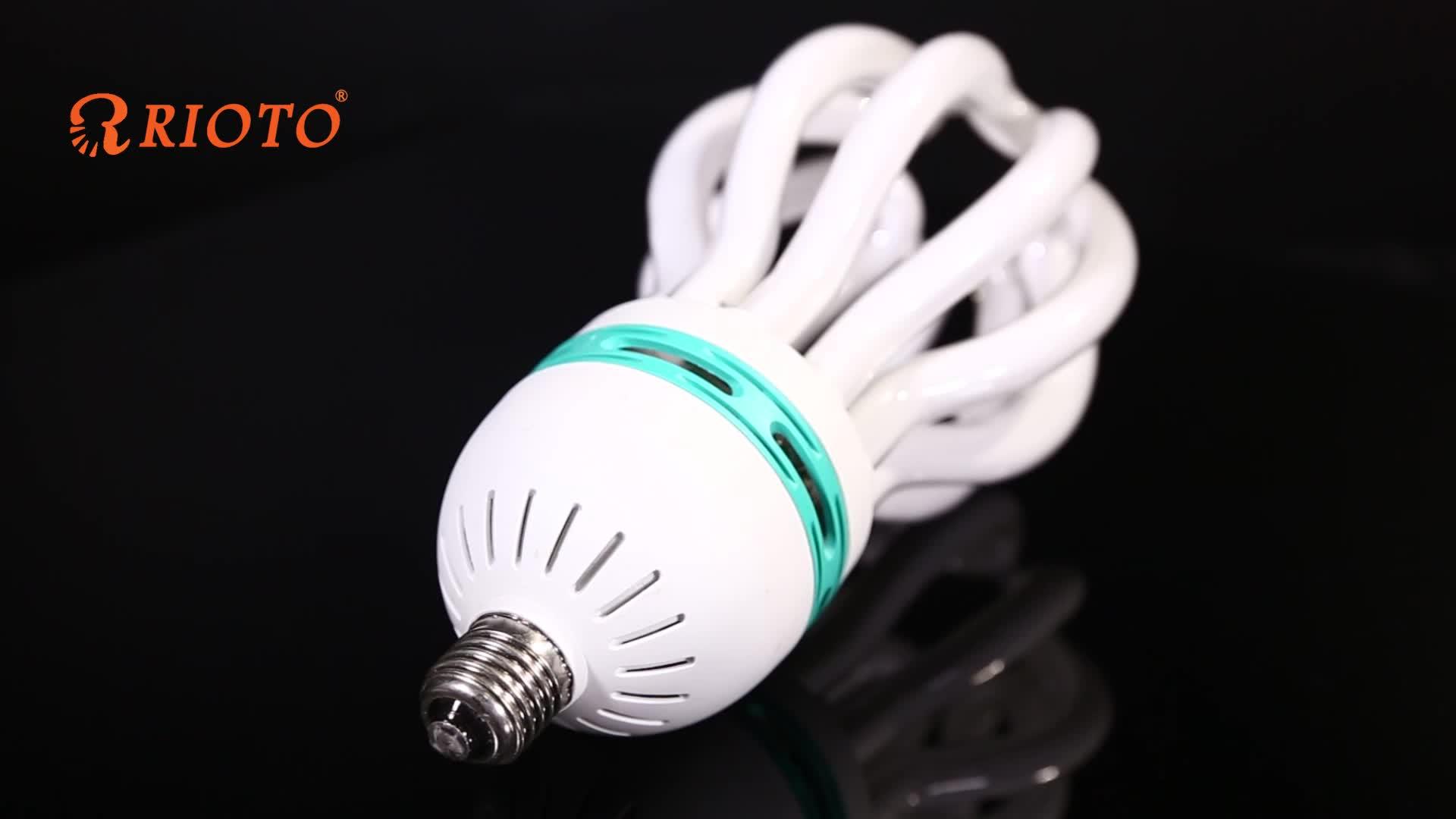 SASO 220V-240V CFL Lotus 5U 85W 70W Lamps Energy Saver Light Bulb