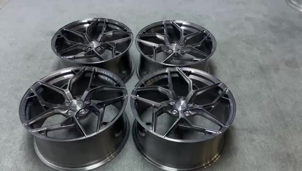 High performance concave forged alloy wheels 18/19/20/21/22x8.5 9.5 for germany cars model3 light forged wheels