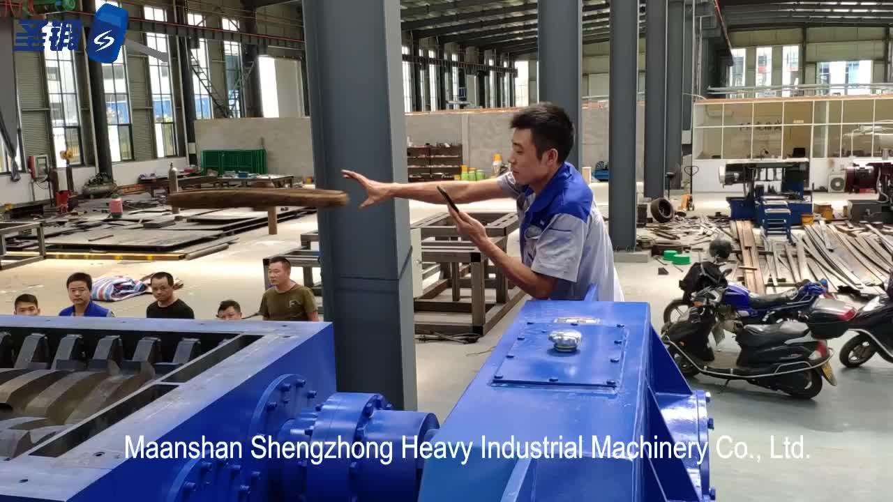 Angepasst hohe produktivität Inländischen müll schredder VERSCHWENDEN RECYCLING MASCHINE