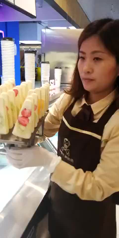CE Approved  Commercial Automatic Ice Cream Popsicle Making Machine