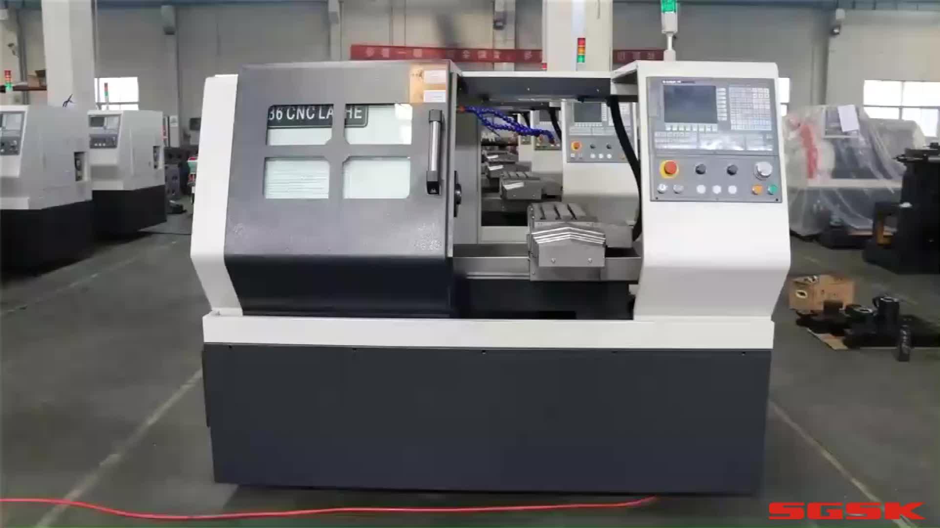 H46 GSK cnc lathe machine automatic price