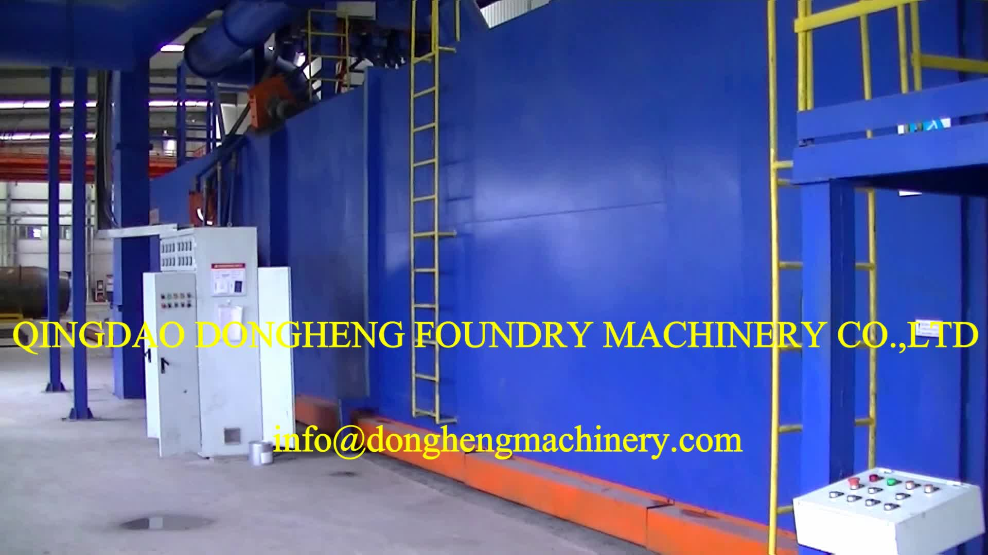 Abrasive polishing wheel desburring H beam and plate shot blasting machine