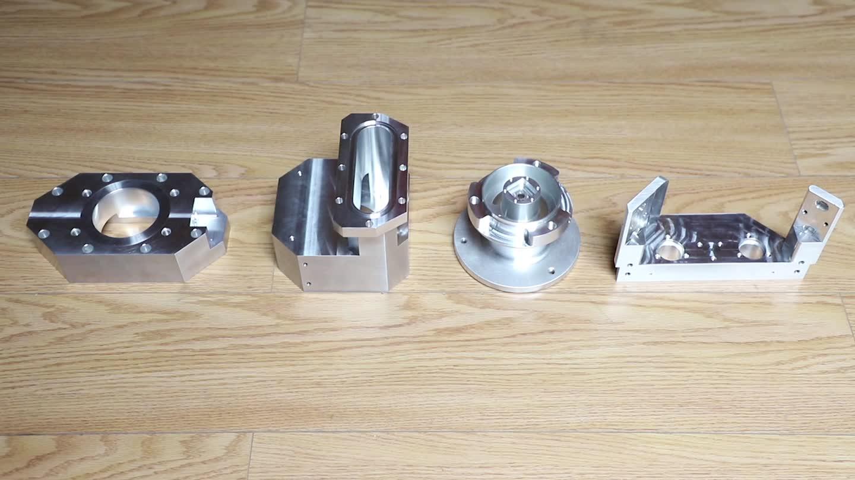 Yüksek kaliteli hassas işleme parçaları makine yedek parçaları özelleştirilmiş CNC freze alüminyum 3D yazıcı parçaları