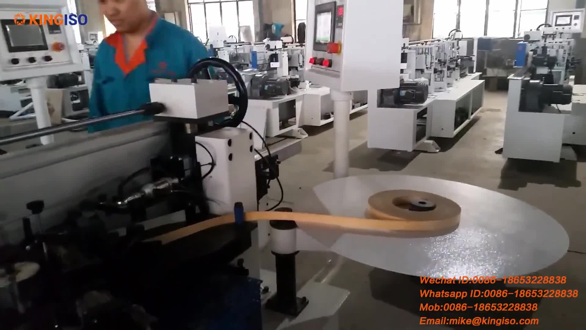 MFZ601Automatic MDF PVC Edge Bander Machine woodworking edge bander machine price