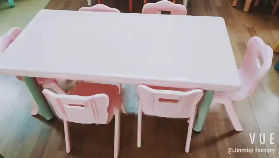 Hot sale cheap plastic tables and chair of primary school furniture