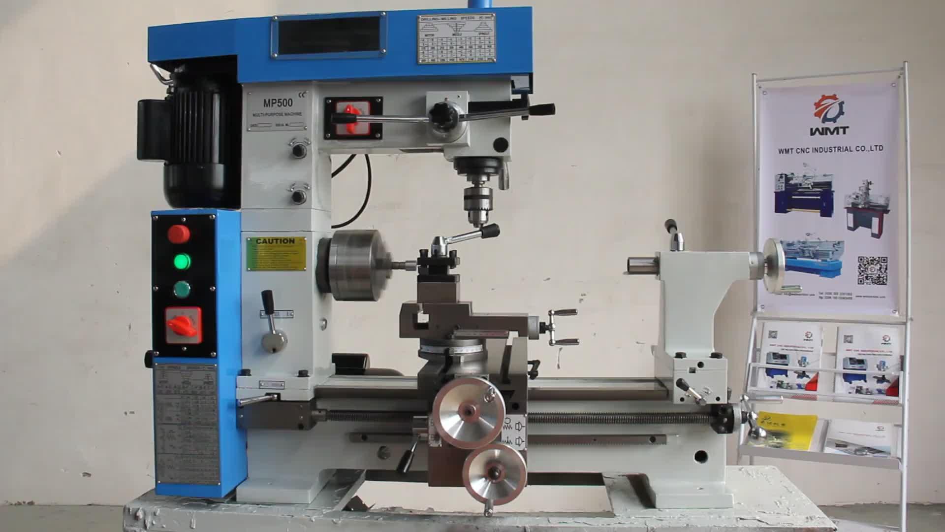 MP800 kombine mini metal torna makinesi
