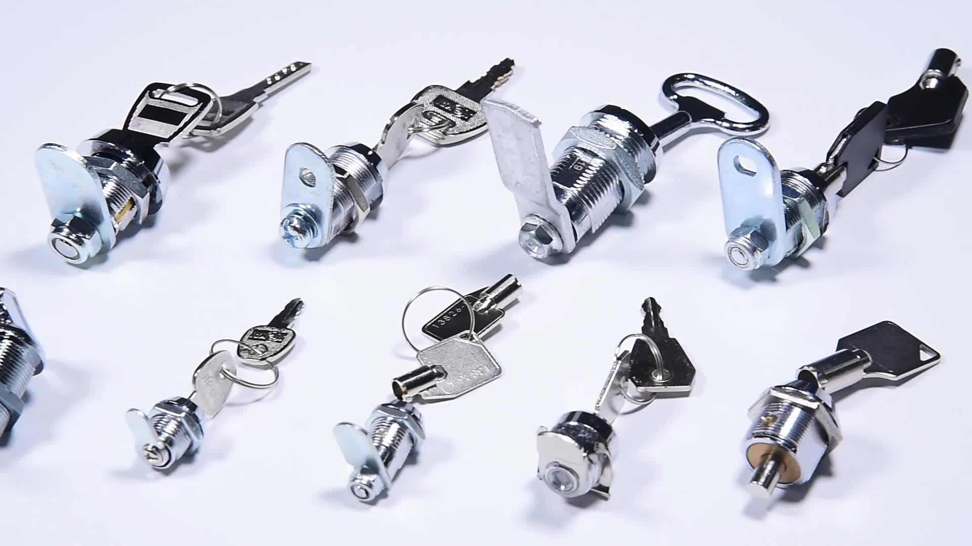 JK306 90 graus para a esquerda ou virar à direita 12mm x 10mm conector móveis bloqueio cam tubular cam lock nut chave