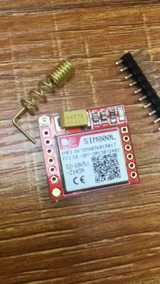 उच्च गुणवत्ता के नए और मूल GPRS जीएसएम मॉड्यूल SIM800L