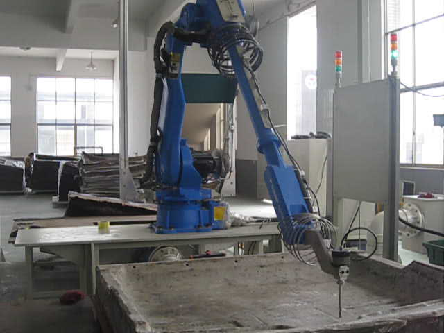 Industrial water jet cutter robot arm cutting machine robotic water jet cutting machine