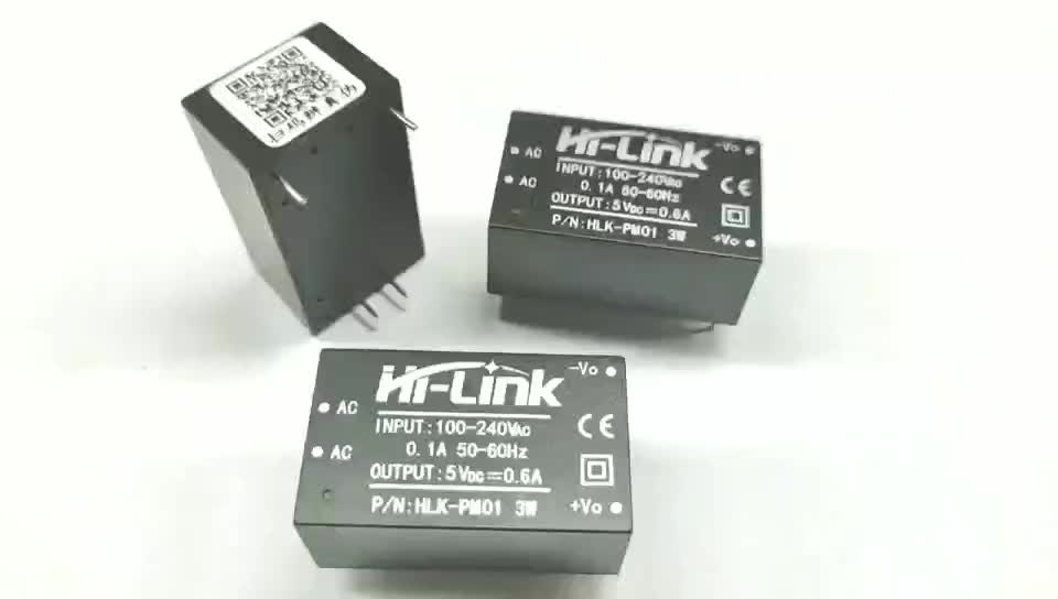 HLK-PM01 AC DC power module Power supply 3W 5V output
