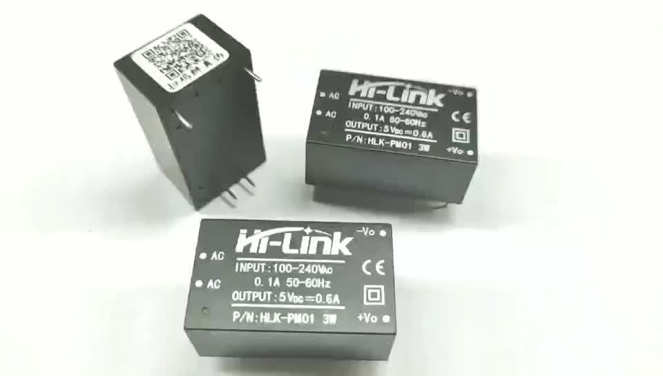 3W קטן במיוחד כוח מודול 220V כדי 5V 600mA AC DC ממיר