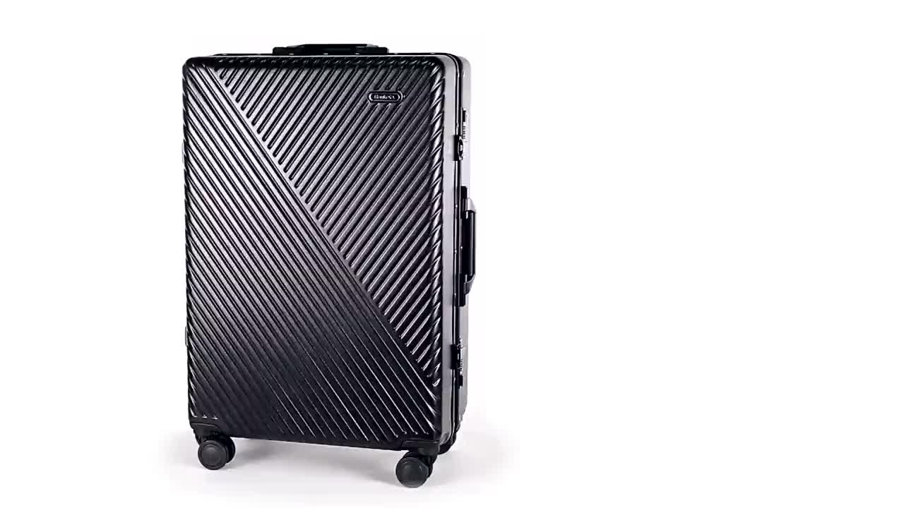 2019 new trend 20/24 inches suitcase luggage bag travel trolley luggage bag