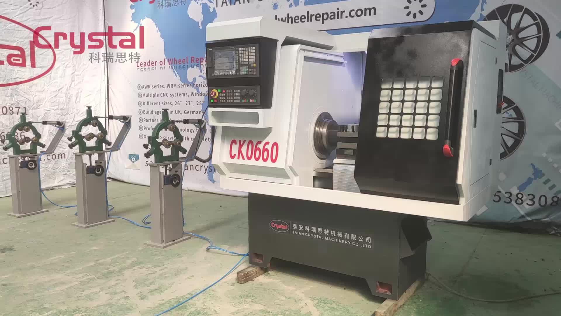 PVC/polietilen boru diş açma makinesi elektrikli boru geçirici CK0660