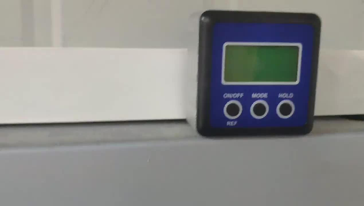 4x90 gradi Digital Inclinometro digitale di precisione bevel angolo di goniometro Bevel Box con il magnete