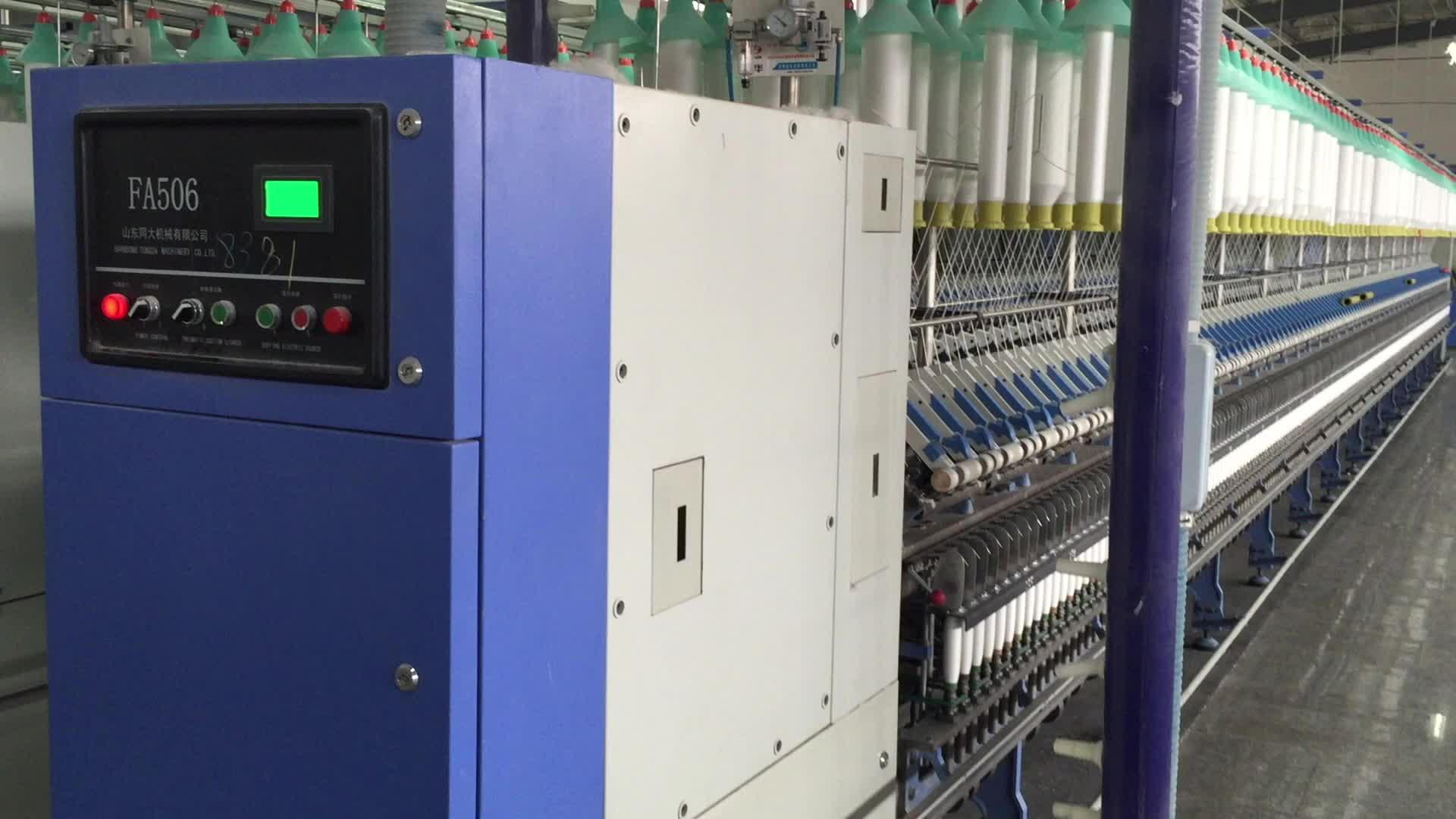 Filati di cotone di Filatura Mulino Macchine Tessili Per La Filatura FA506 Filatura Ad Anello Macchina