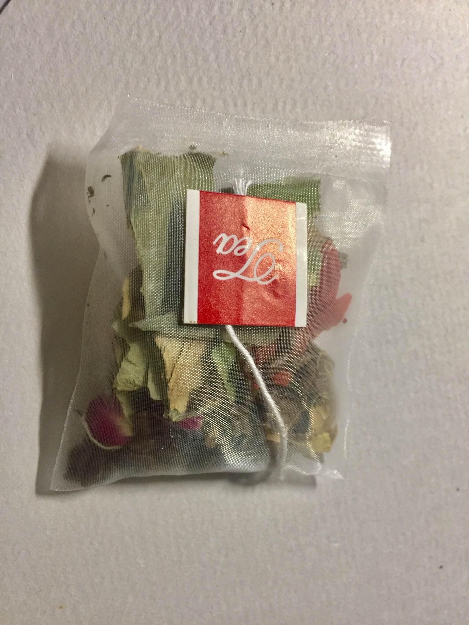 包装精美的冬瓜荷叶减肥茶,让人享受