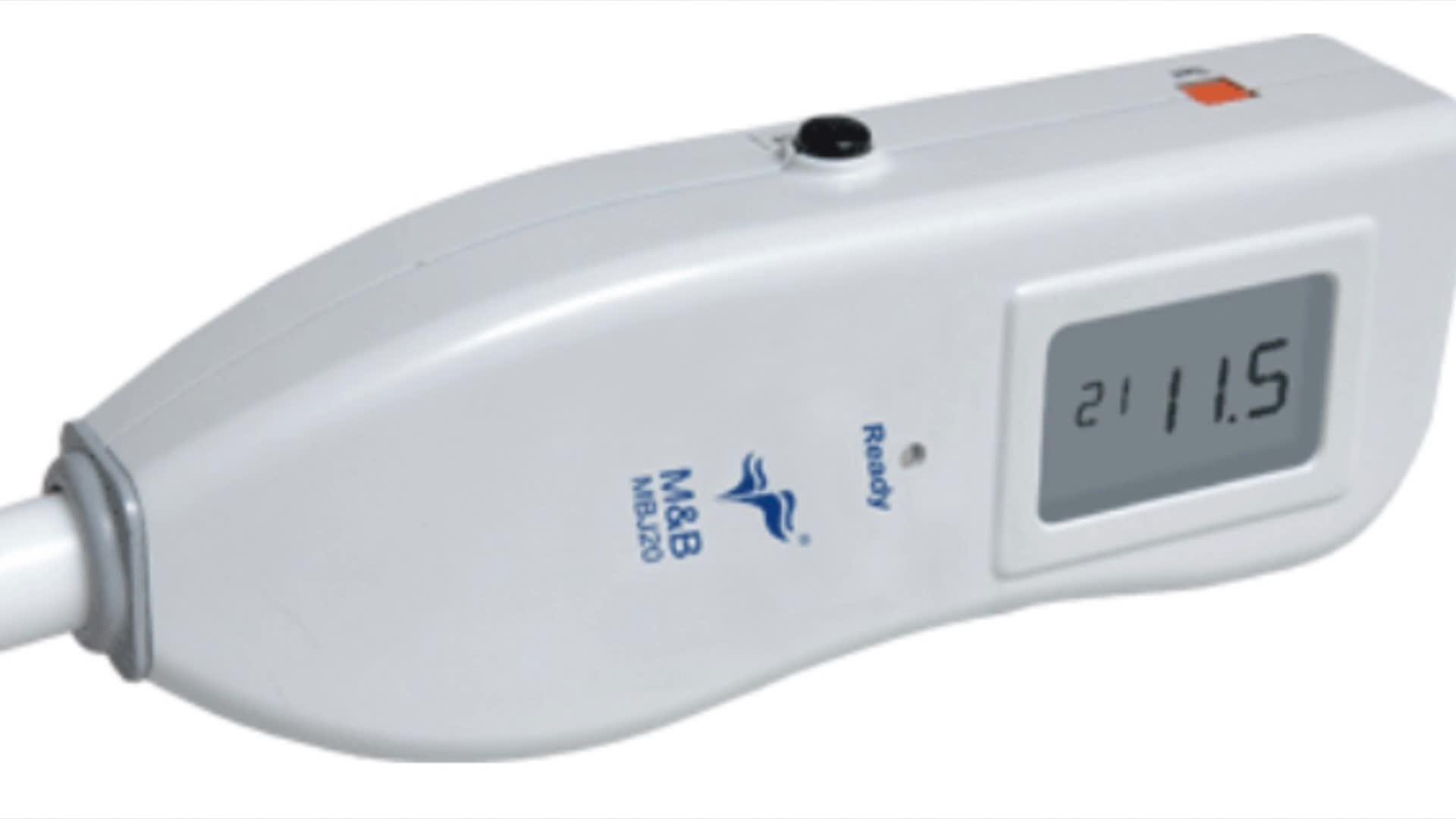 Bilirubinometer transcutaneous 신생아 황달 빛 검출기 아기 테스터