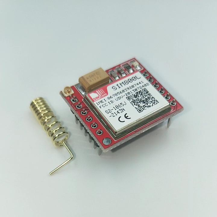 GPRS Adapter Board Micro SIM card GSM SIM800L Module