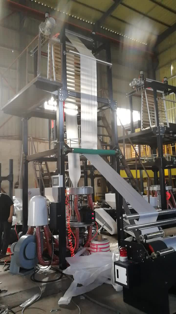 Three-layer Co-extrusion Film Blowing Machine(aba)