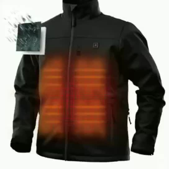 Winter High Quality Motorcycle 100% Polyester Heated Jacket