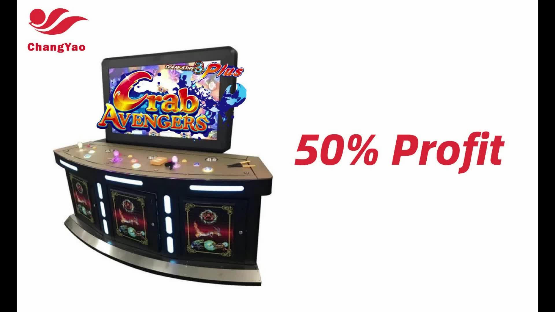 Preiswertes Casino Fischjäger Spiel 85 Inch10 Player Fishing Game Machine