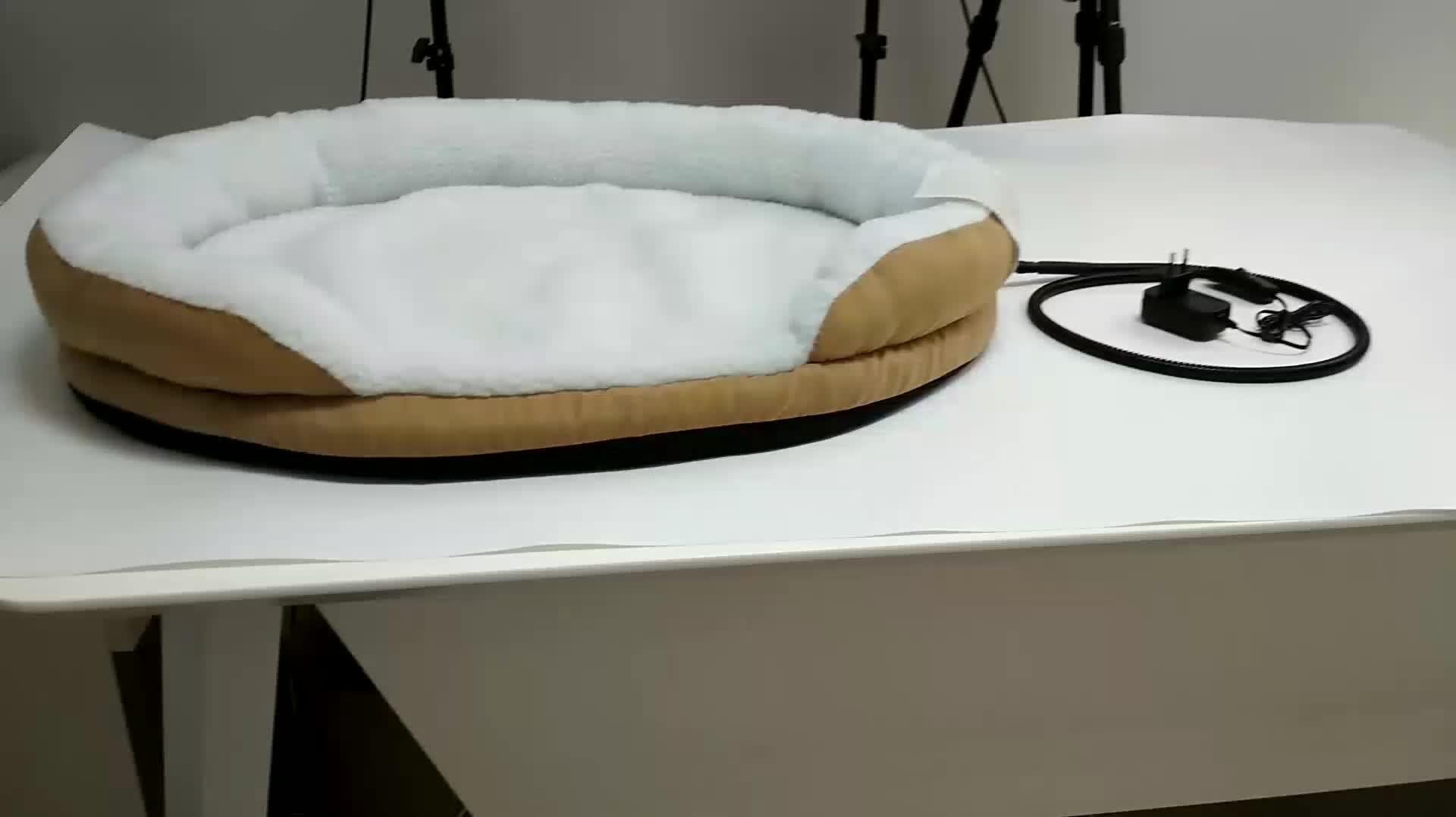 Groothandel 15 W verwarmde huisdier mat warm verwarming huisdier bed