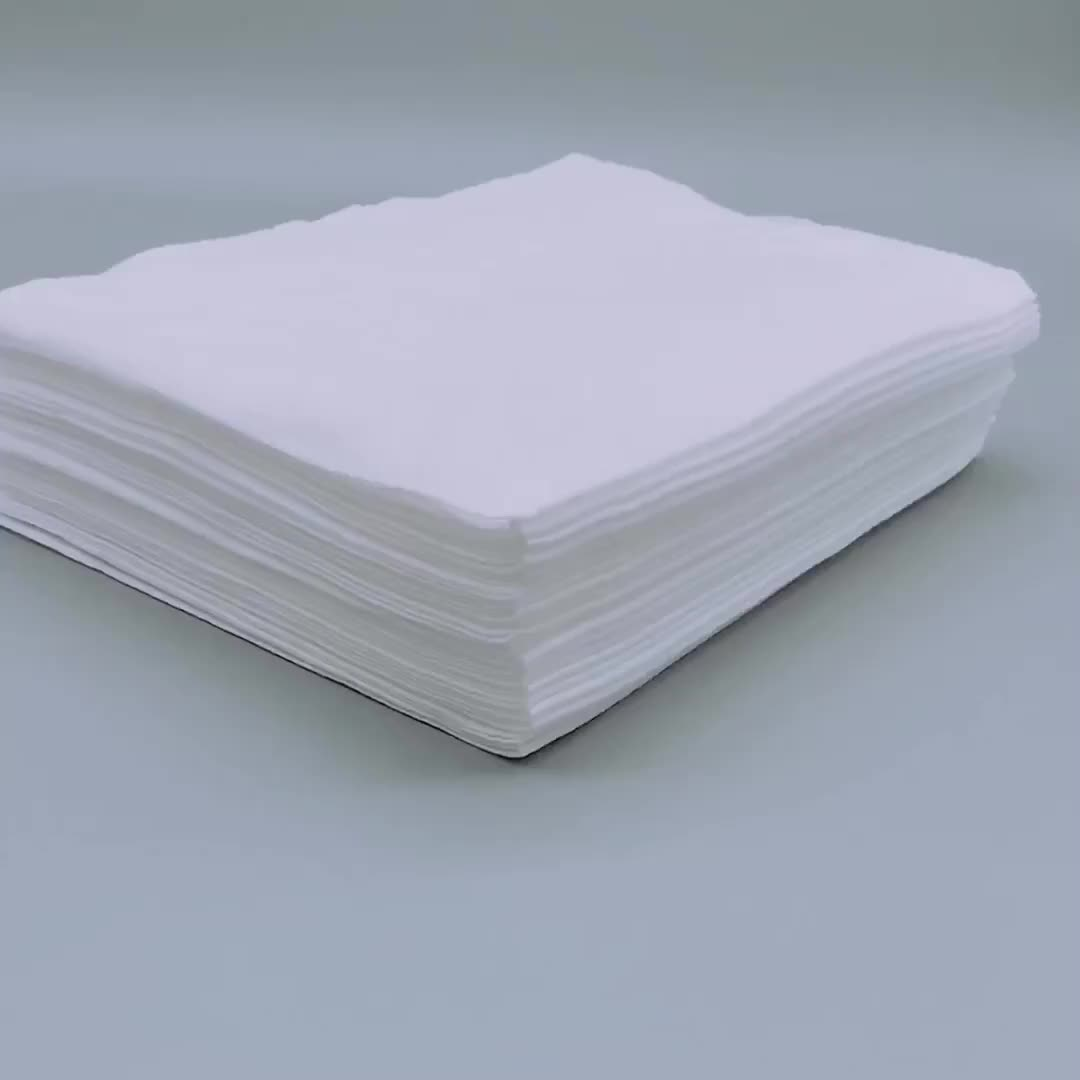 100% rayon spunlace biodegradable white  salon towel
