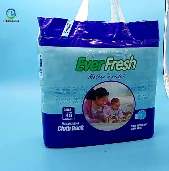 Best Price Customized Logo Baby Disposable Diaper in Bales from China