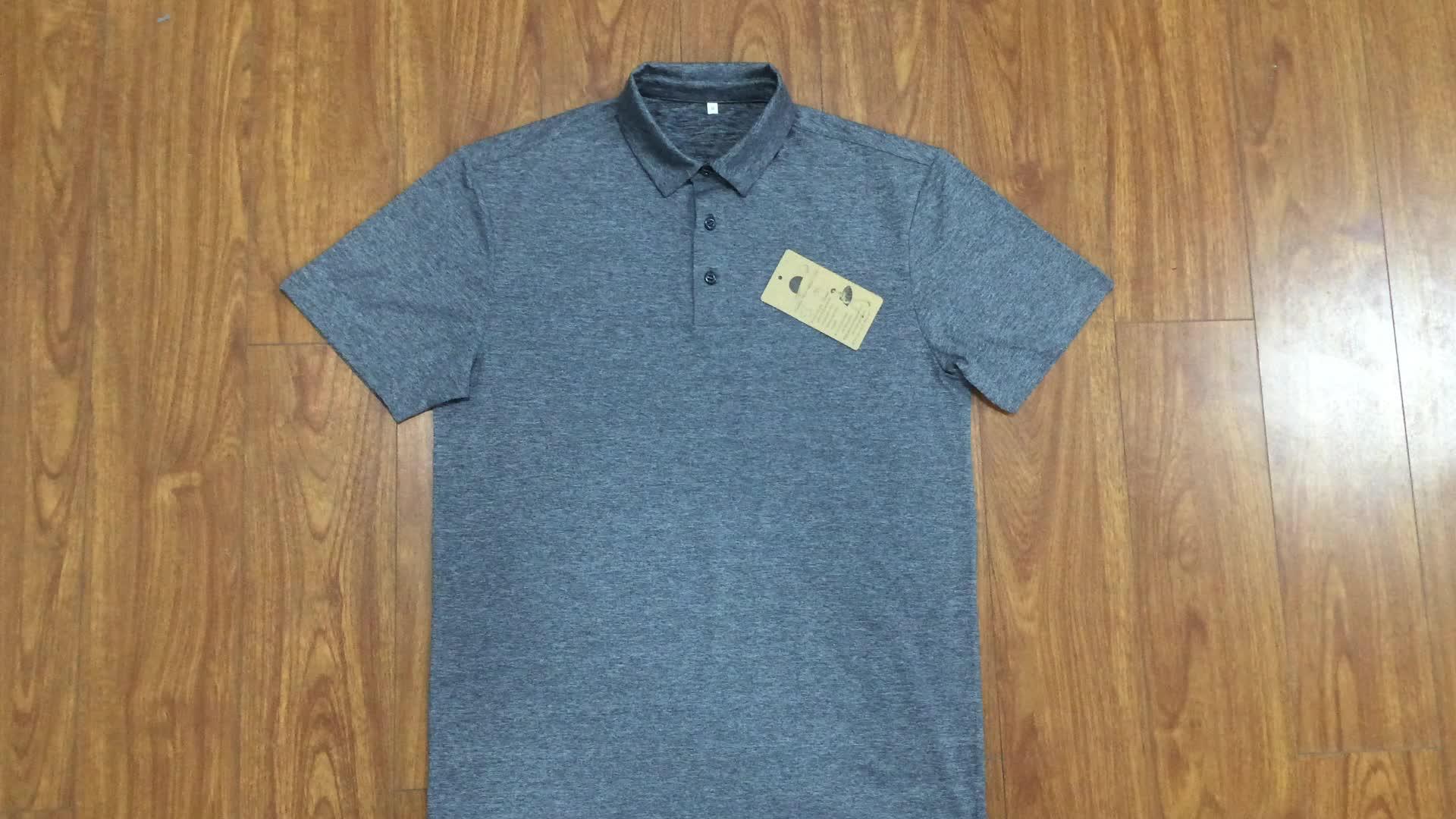 مخصص 100% الموجبة البوليستر الجافة سريعة رخيصة الرجال بولو تي شيرت طباعة شعار تصميم الملابس قميص جولف