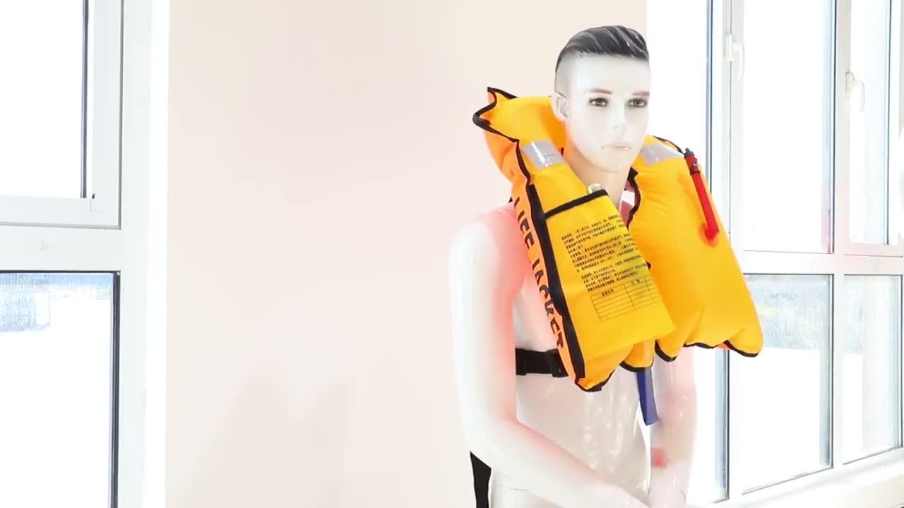Murah Dewasa Otomatis 33G CO2 Silinder Inflatable Life Jacket