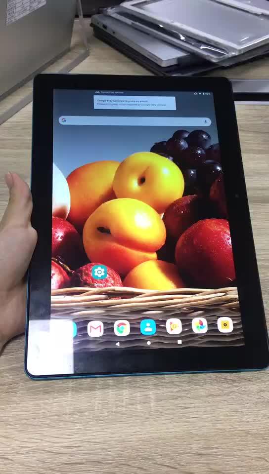 בתפזורת סיטונאי אנדרואיד טבליות MTK6580 Quad Core 10.1 אינץ הכפול סים 2GB + 32GB Tablet PC אנדרואיד 7.0 GPS Wifi 3G, 10.1 אינץ tablet