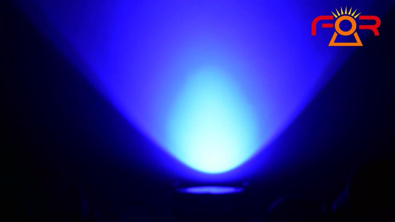 200 와트 프로 디스코 DJ 웨딩 극장 DMX 대포 워시 터프 파 200W RGBWA + UV 6IN1 COB par64 LED 무대 파 빛