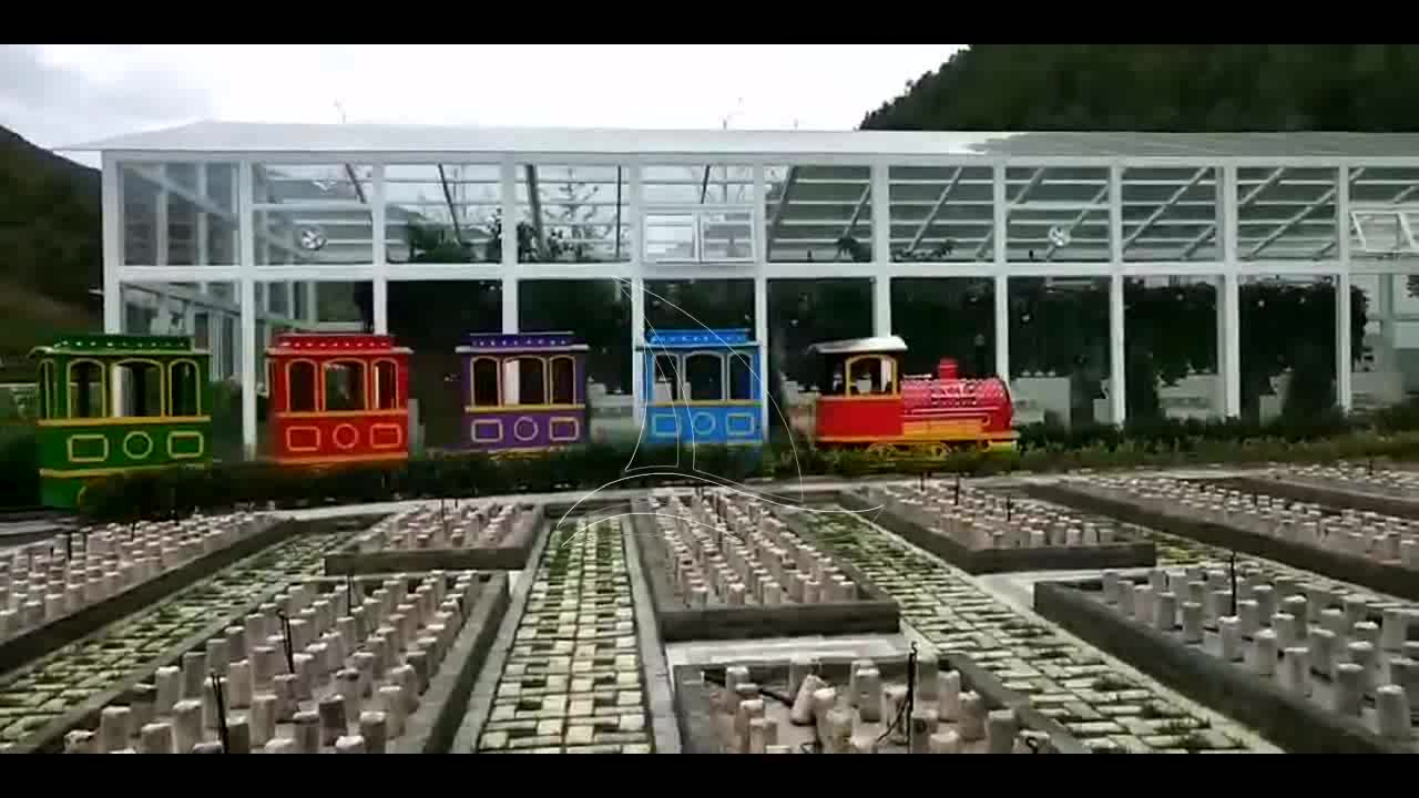Sightseeing antique track train for sale