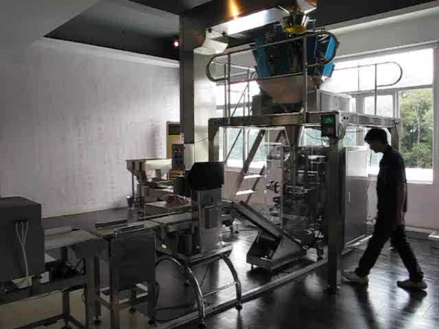 100 gm to 250 gm  Puffed Food Standing Pouch Packing Machine