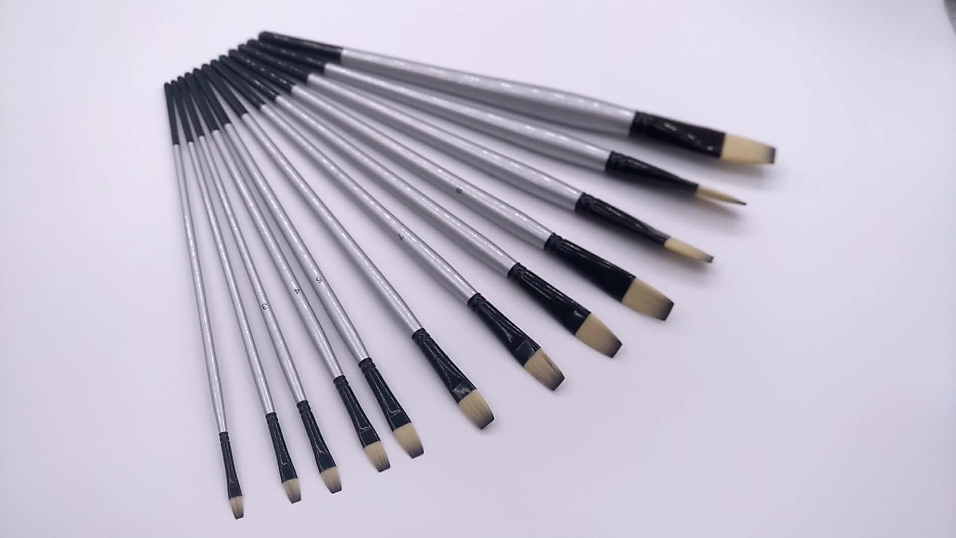 Commercio all'ingrosso artista vernice brush set per la pittura ad acquerello materiali di arte
