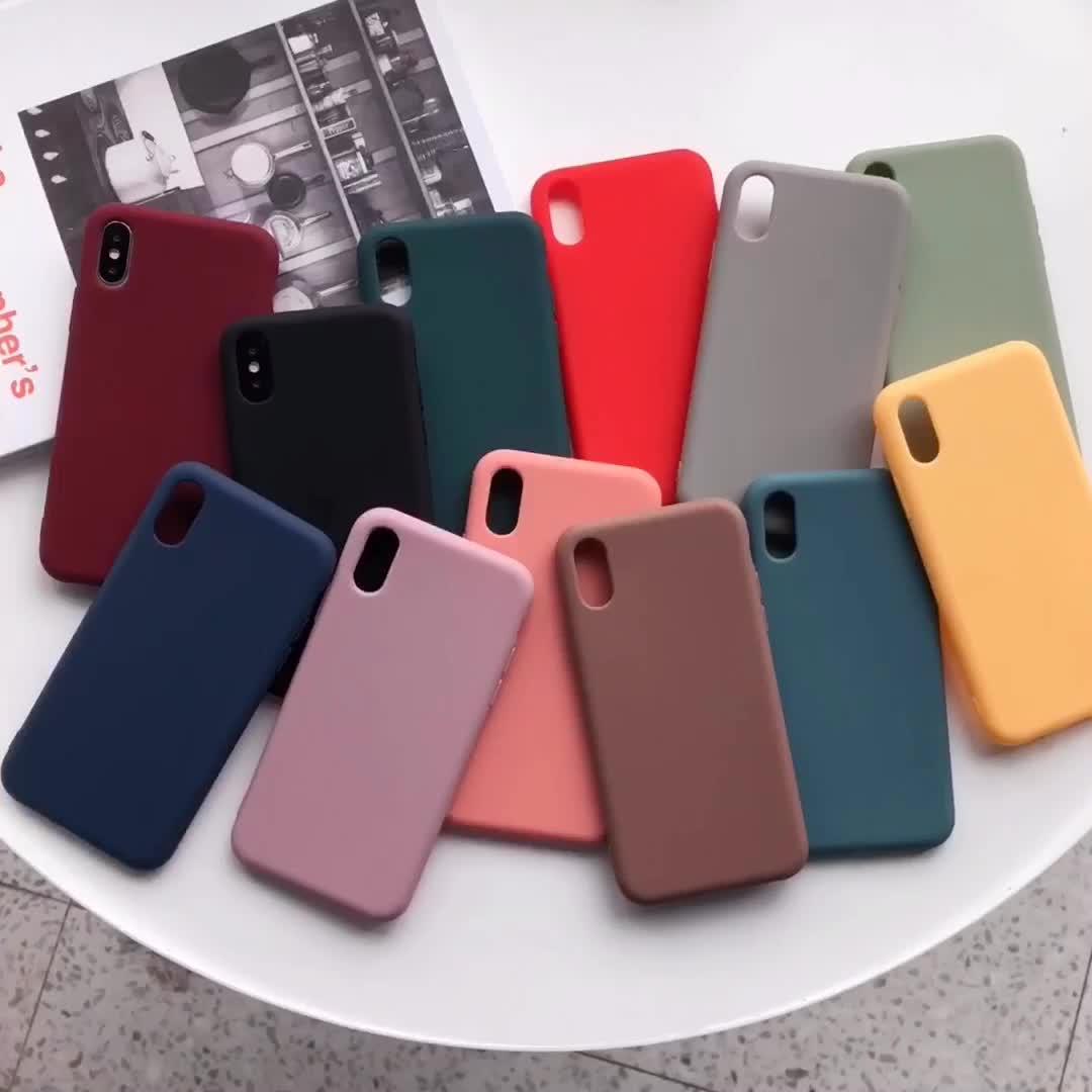 カスタム卸売ソフト耐震薄型アンチノックキャンディーカラープレミアムシリコンtpu携帯携帯電話ケース2020 iphone 11