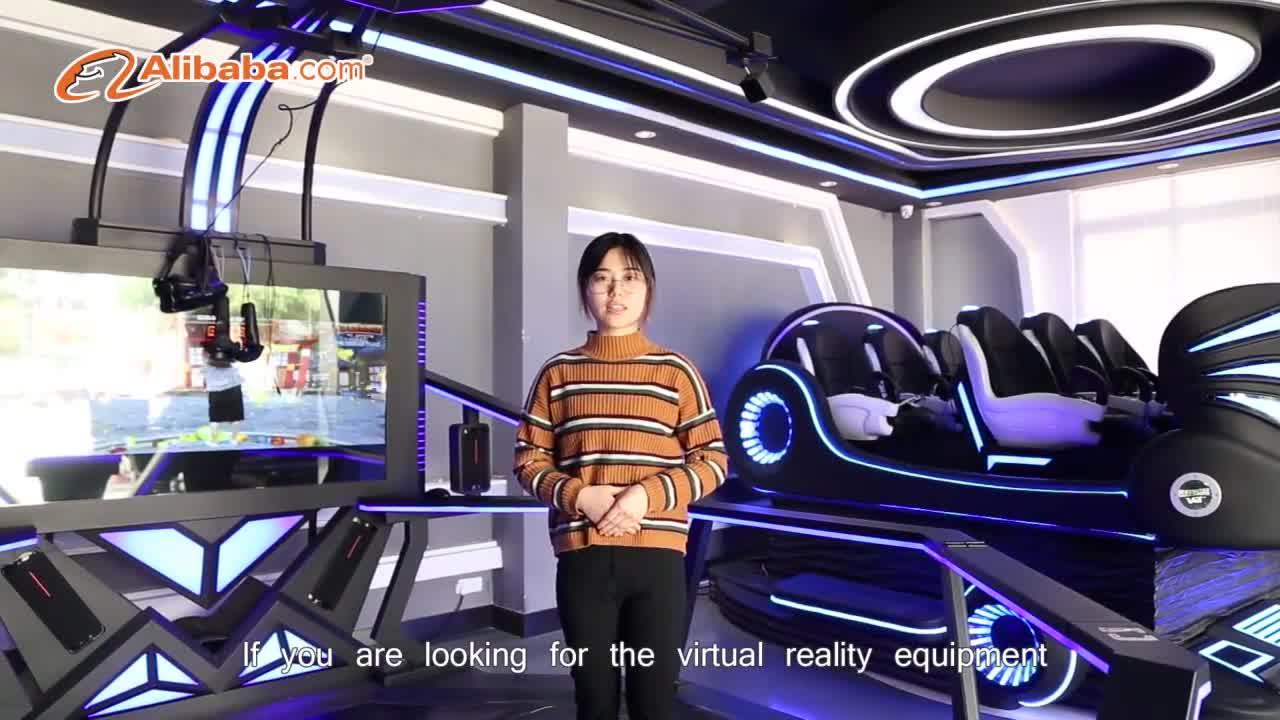 ارتفاع العائد الاستثمار مشاريع 9D الظاهري الواقع محاكاة ركوب VR الترفيه آلة